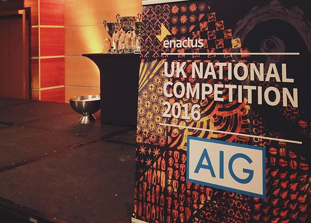 Day 2 of Nationals! Can't wait to see the other projects from @enactusuk #weallwin #enactusuknationals