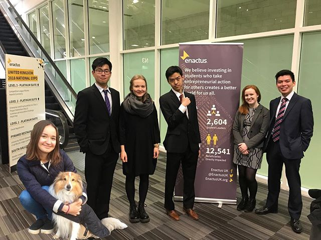 Enactus National Expo 2018 St. Andrews team, although we didn't compete but we are deeply touched, inspired and proud of being part of this big family. #enactusuknationals #enactus #enactusuk #thenextgenerationleader #entrepreneurship #proudfamily