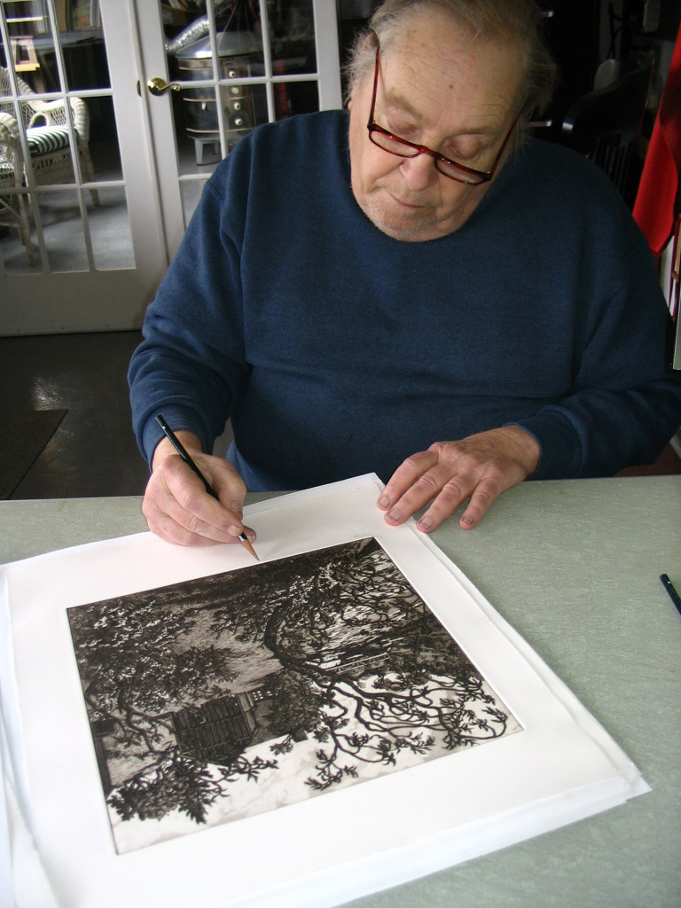 Jack signs the edition, April 28, 2005.