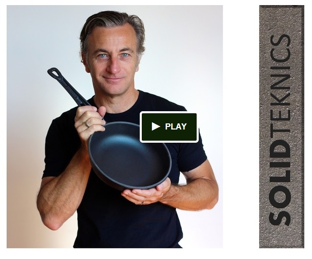 Click here to see the Fonte Tough Love Australian cast iron pans project on Kickstarter