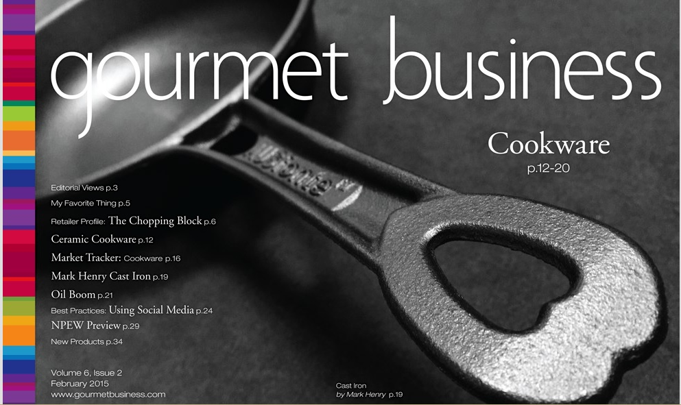 Great coverage by Gourmet Business magazine in USA. Click here for the online version with 2 pages article inside (pg 19-20).