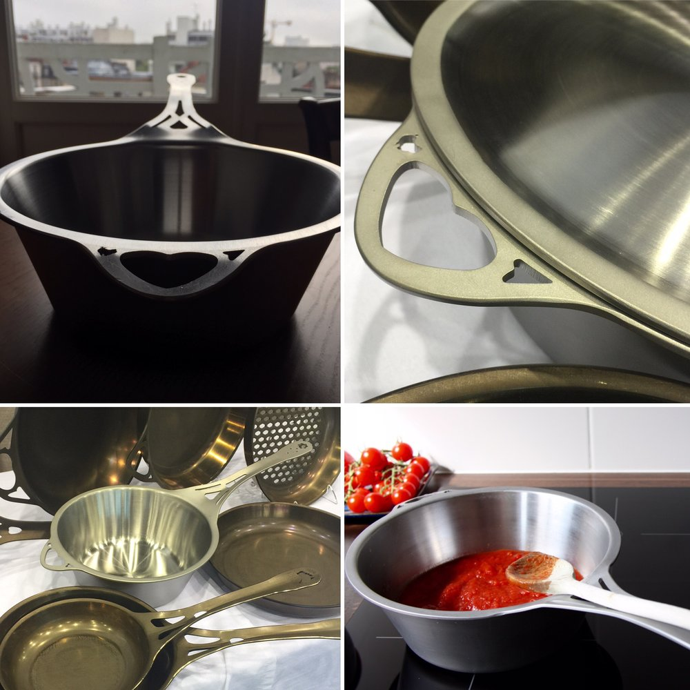 The post that went viral* on Facebook, and convinced  Solid teknics that support was huge for this world-first seamless stainless cookware. See the original post  here . The comments are eye-popping, considering Solideknics never 'plants' or pays for comments.   *'viral', on a cookware industry scale..... ;-)