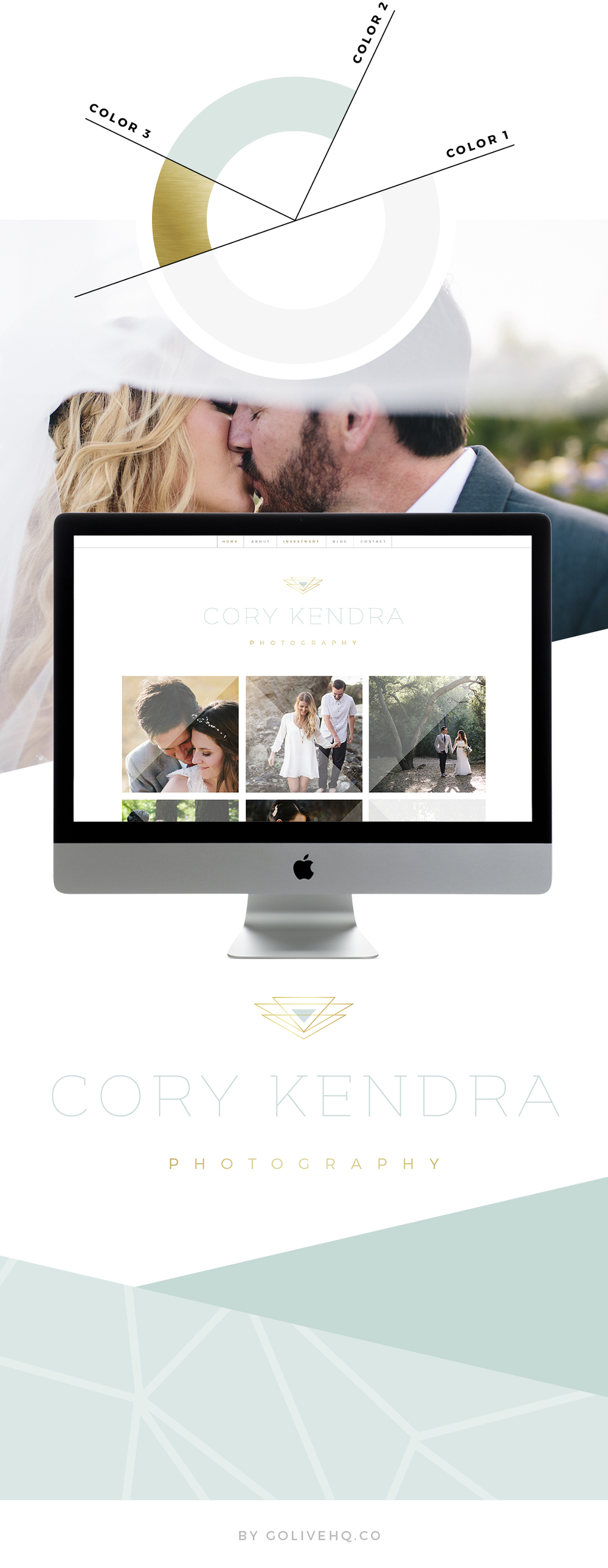 wedding photography website - by GOLIVEHQ.CO
