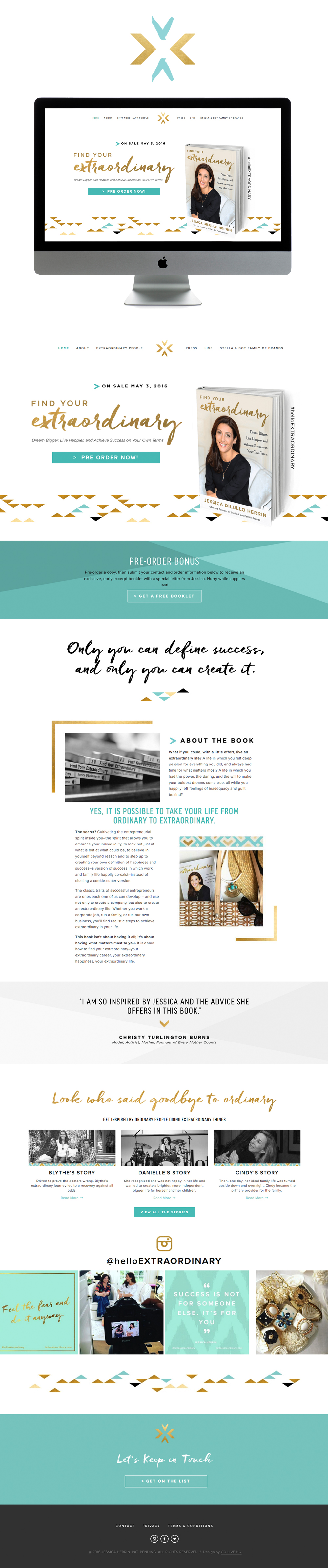 inspiring chic smart Squarespace website design | designed by golivehq.co