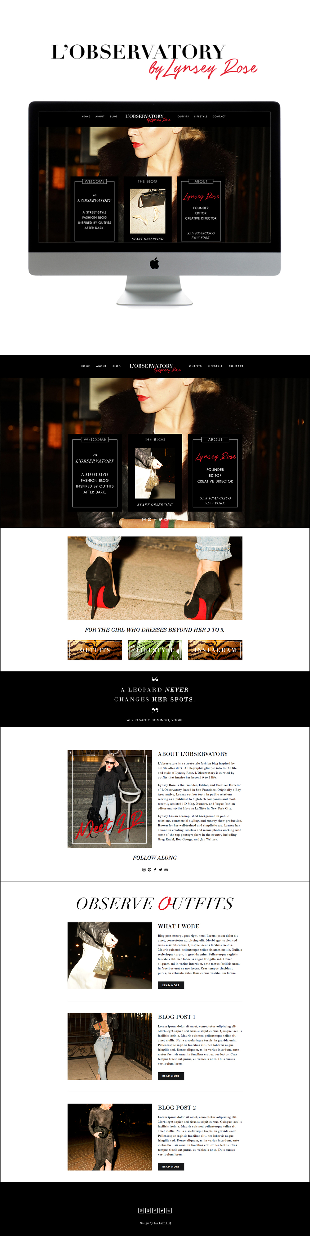 editorial sexy squarespace blog design | designed by: golivehq.co