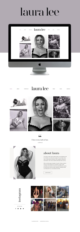 sophisticated modern inspiring wordpress website design | design by: golivehq.co