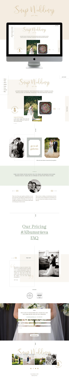 natural, warm, and feminine showit website design | designed by: golivehq.co