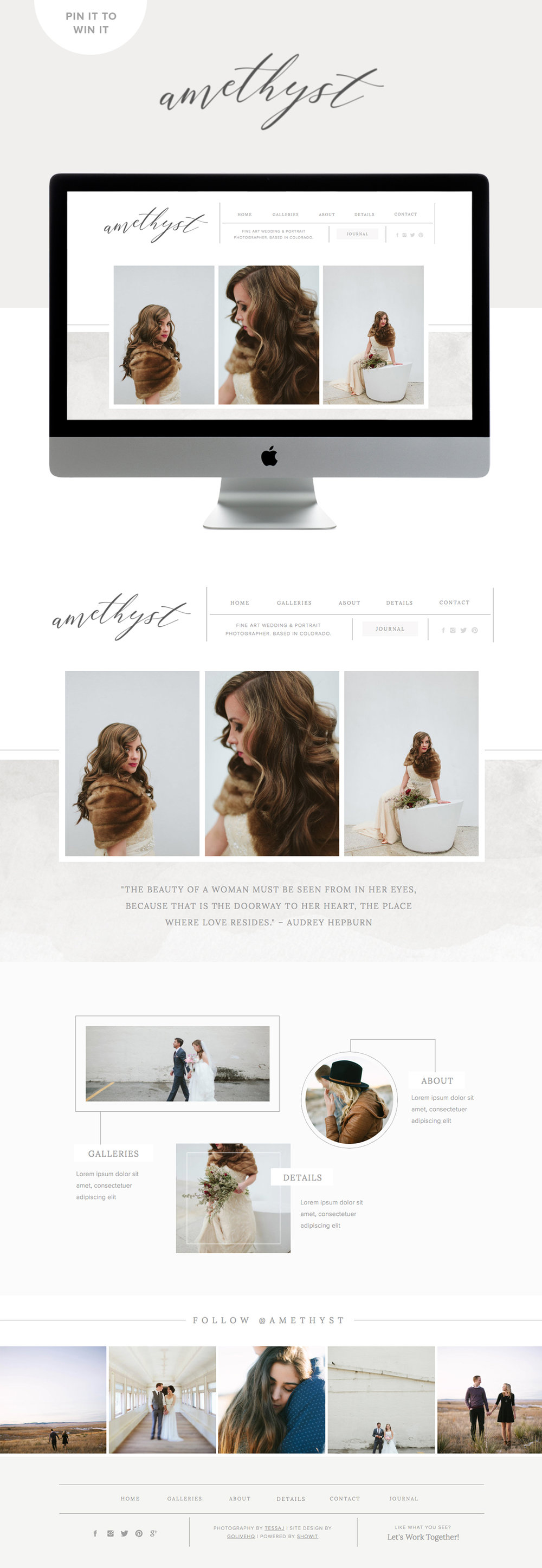 amethyst squarespace & showit website design by golivehq.co