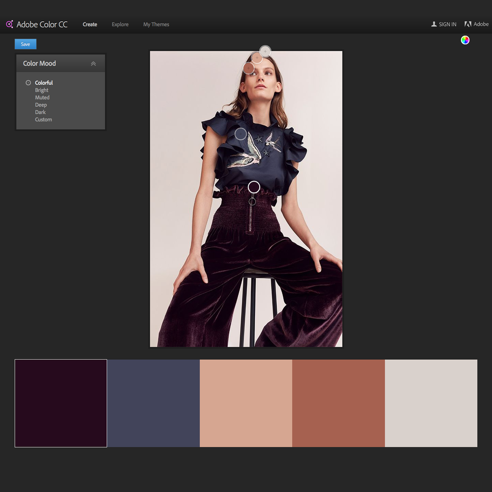 adobe color wheel - how to choose a color palette | Go live hq