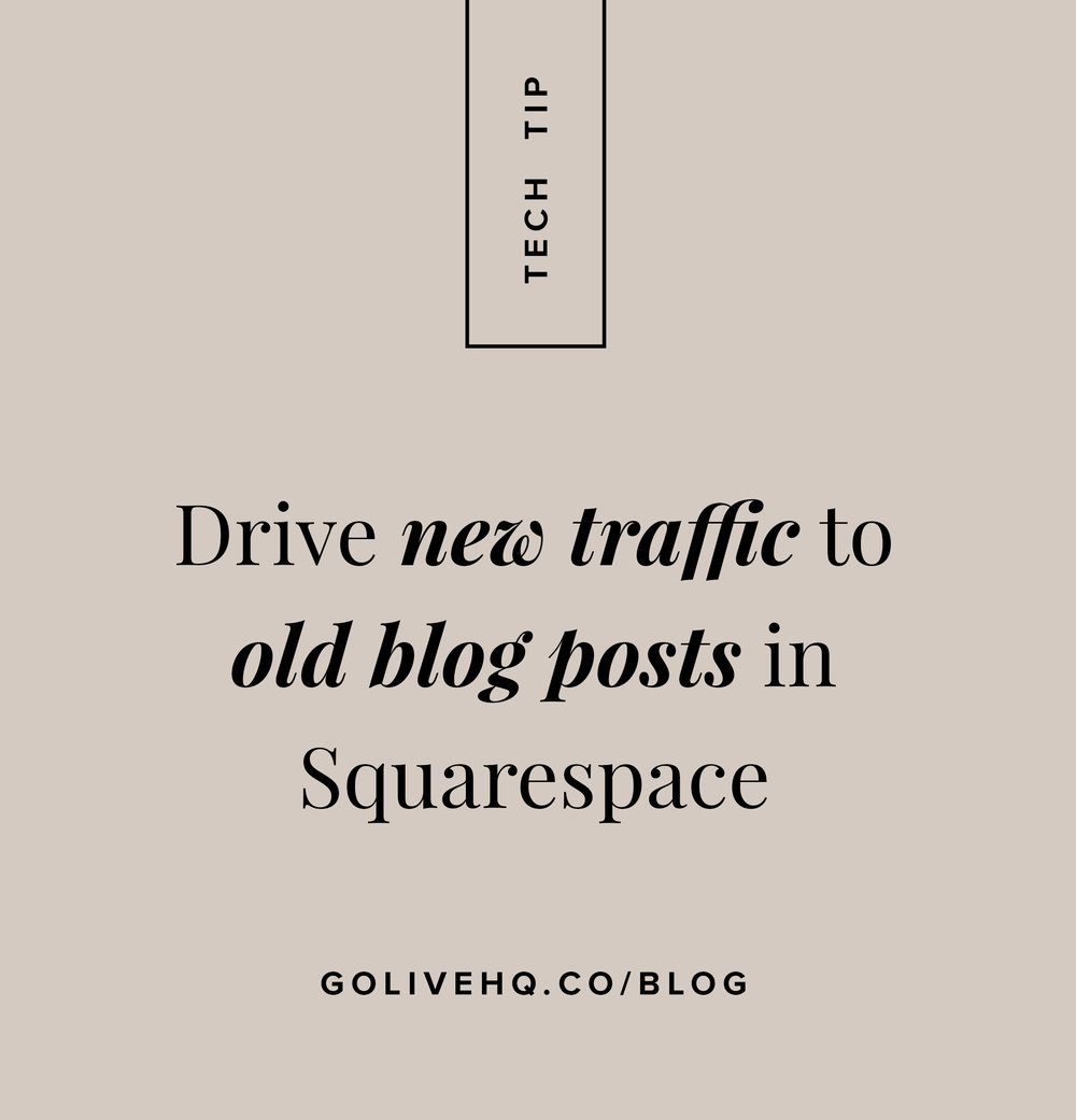 How to set up related posts in Squarespace