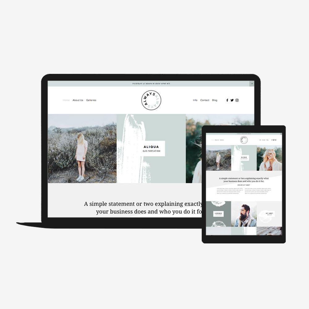Always squarespace go live showit squarespace website templates always squarespace fbccfo Gallery
