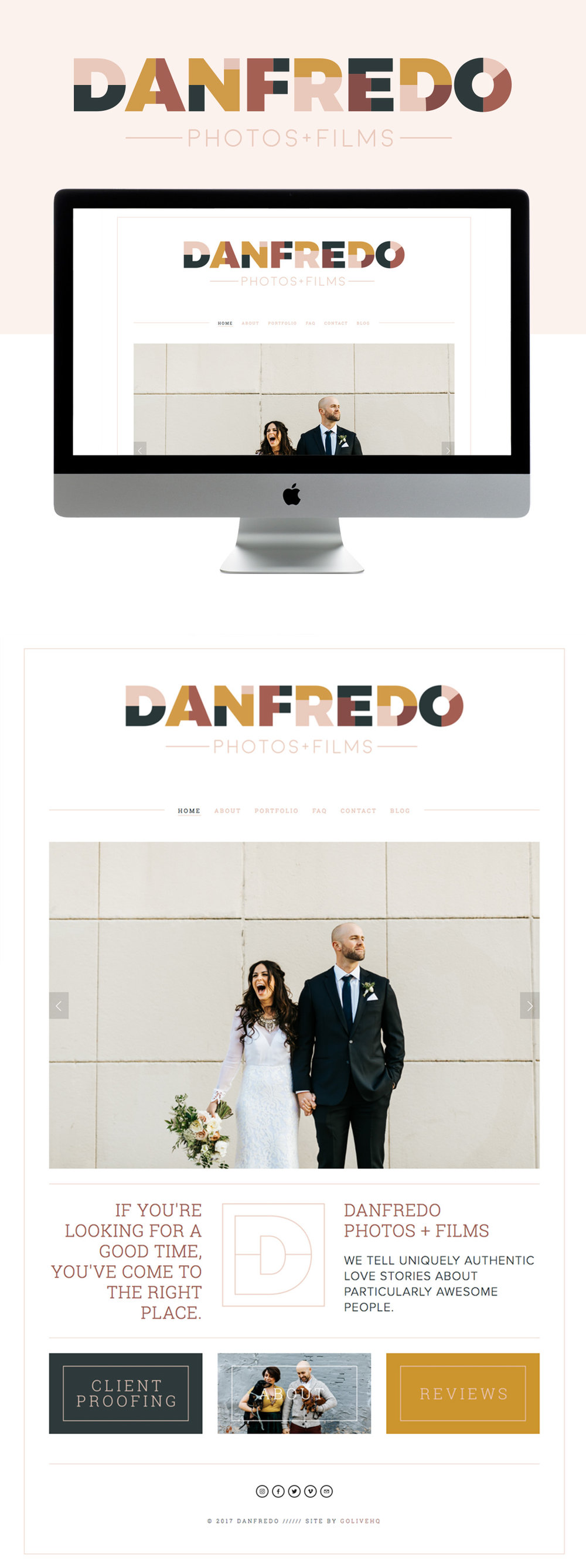 Danfredo Is LIVE on Squarespace | By Go Live HQ