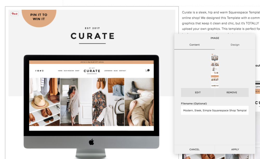 How to rename your photos on Squarespace | By Go Live HQ