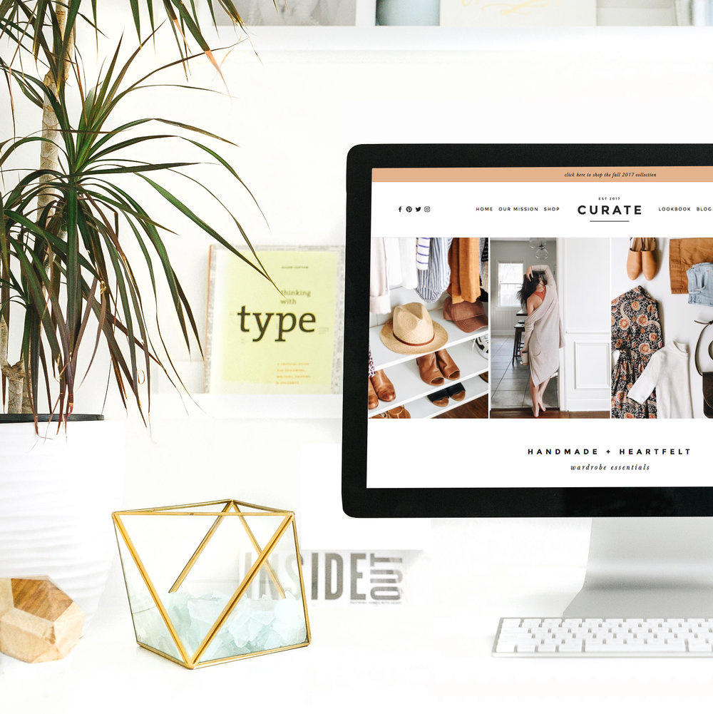 VISIT THE SHOP - Take a peek at our quick and easy, customizable Website Templates.