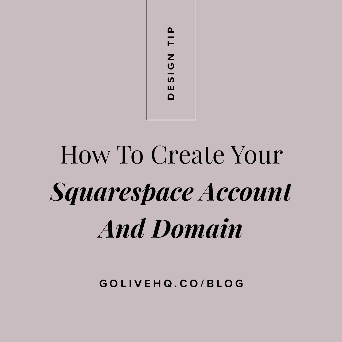 786fd45774d How to Create a Squarespace Account and Domain — GoLive  Squarespace ...