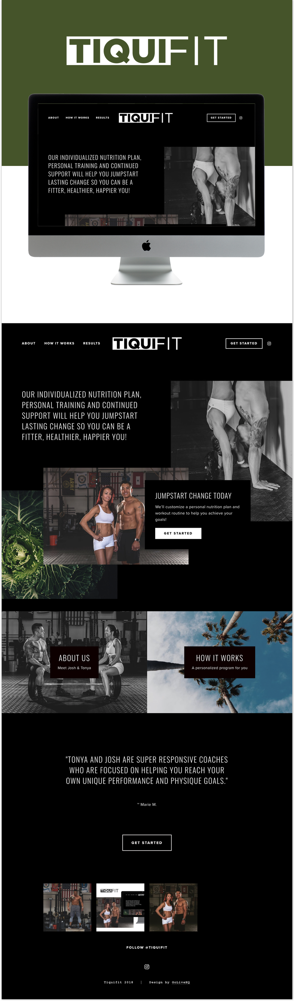 Brooklyn Squarespace Go Live Showit Squarespace Website Templates