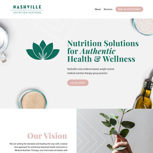 Nashville Nutrition Partners Is Live On Squarespace Go Live