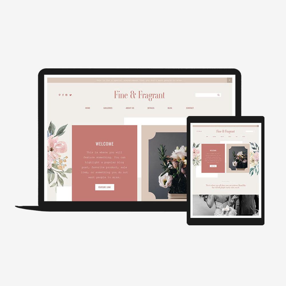 Fine And Fragrant Squarespace Go Live Showit Squarespace