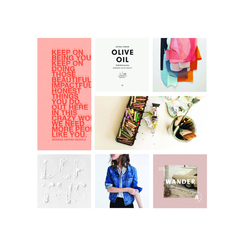 Mood Board for upbeat, modern, visionary brand | Go Live HQ