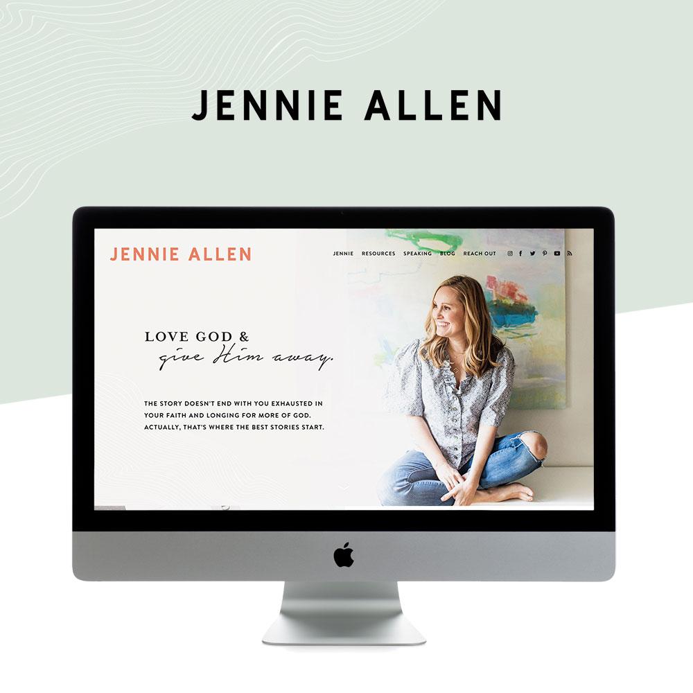 Modern, upbeat, unique website design for Christian Author and Speaker | Design by Go Live HQ