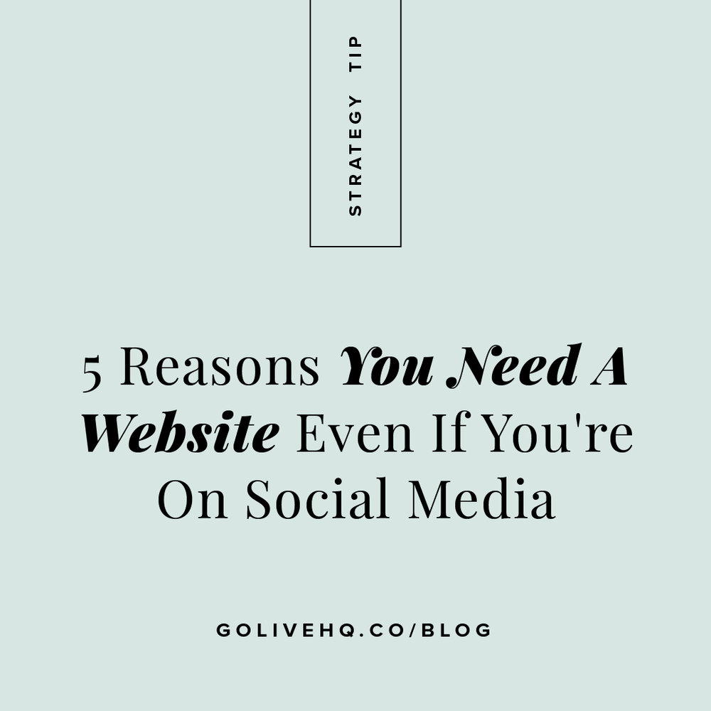 why you need a website - Instagram - Square Graphic.jpg