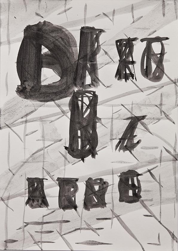 Blatt Paper | Drawings | 2013