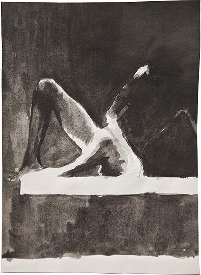 Bis Hier Im Dunkeln | Drawings | 2012
