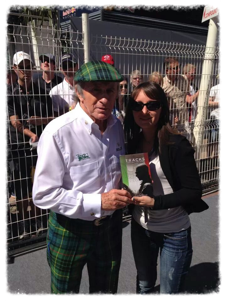 Jackie Stewart  with Luisa