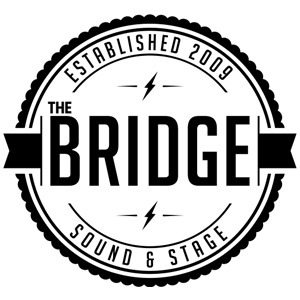 "THE BRIDGE SOUND & STAGE  ""The Bridge Sound & Stage is a professional recording studio located in Cambridge, MA, offering engineering, production and post-production services for very reasonable rates."""