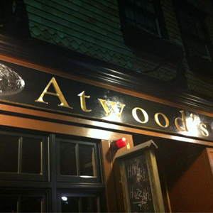ATWOOD'S TAVERN  Located in Cambridge, MA, Atwoods Tavern is a 70 capacity room.