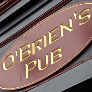 O'BRIEN'S PUB  Located in Allston, MA, O'Brien's Pub is a 70 capacity room.