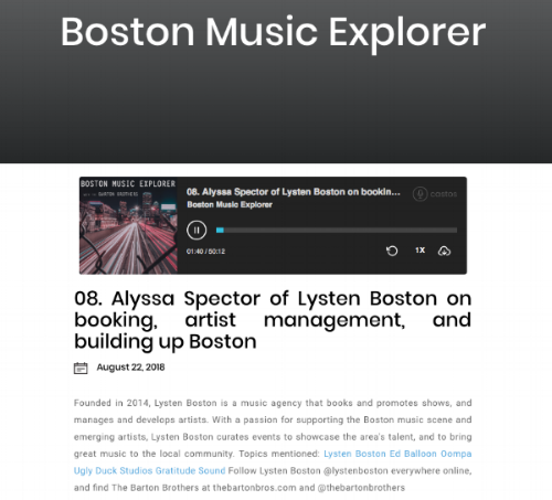 via  Boston Music Explorer