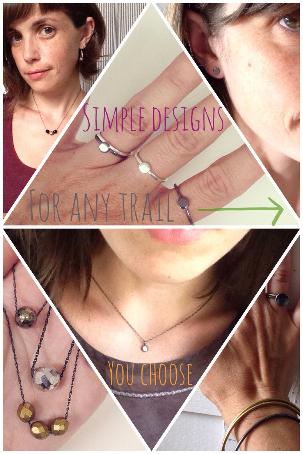 A few suggestions... I am in love with layers of jewelry with summer attire.