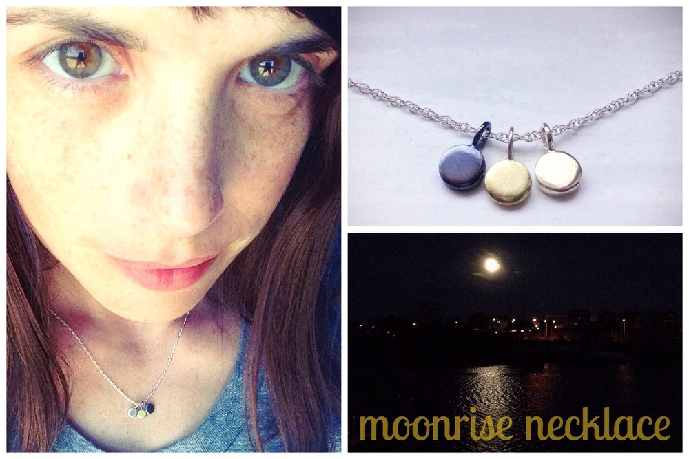my moonrise necklace and the night that inspired it