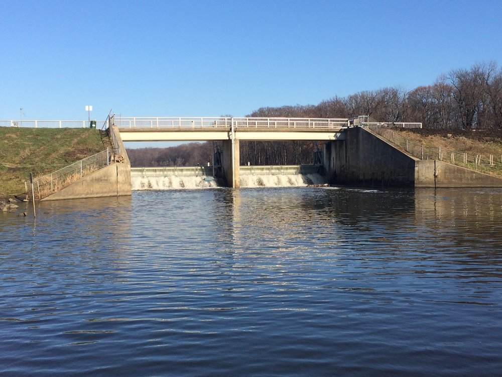 Dam Gates — Downstream