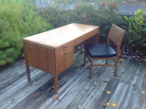 Attrayant Jack Cartwright Founders Desk U0026 Chair