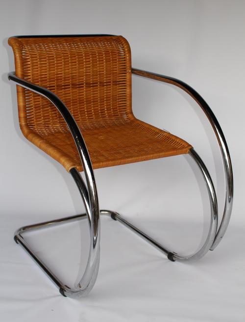 Mies Van Der Rohe Mr Chrome Lounge Chair Beakerloo
