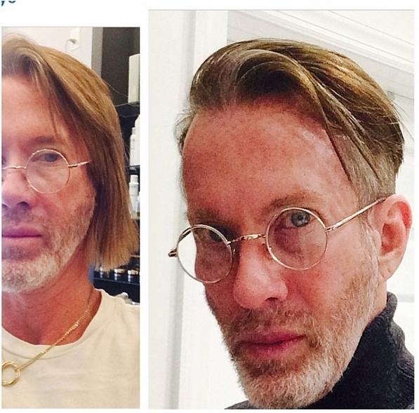 Thom definitely tried something new!