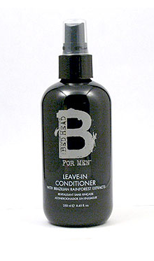 B for Men Bed Head by TIGI Leave-in Conditioner Her Chair His Hair