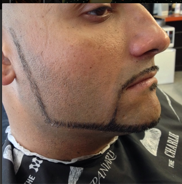 """""""All razor work.""""Posted and hashtagged by recently featured Lady Barber @inotsasha"""