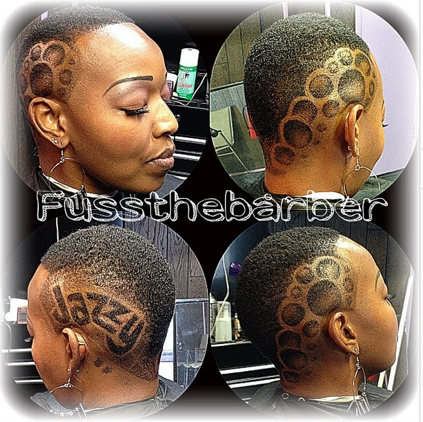 Posted and hashtagged by @Fussthebarber - he's one of our gentlemen supporting #HerChairHisHair so thank you!