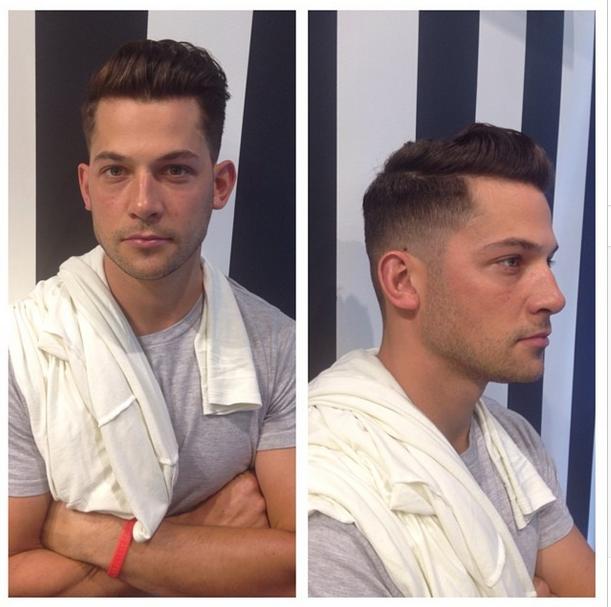 Styling Men's Hair HerChairHisHair NYC