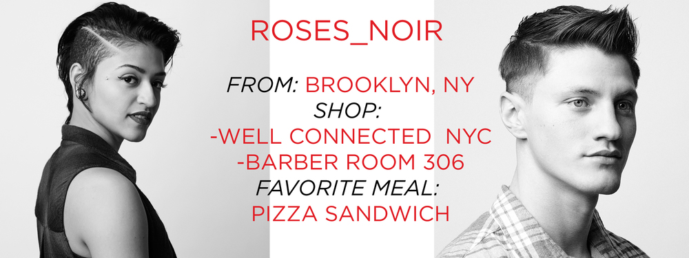 Roses_Noir HerChairHisHair Lady Barber NYC Photo Shoot