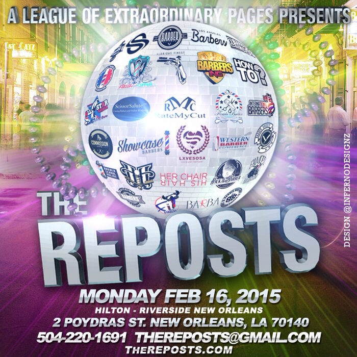 The Reposts New Orleans NYC Barber Event