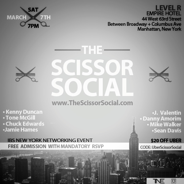 The Scissor Social NYC Barber HerChairHisHair Network Industry