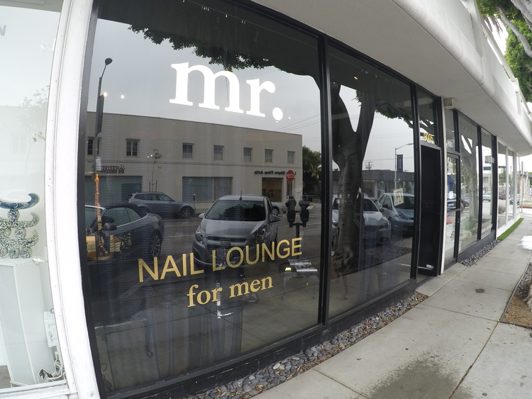 The Woman Behind Your Man\'s Hands: Mr. Nail Lounge — Her Chair His Hair