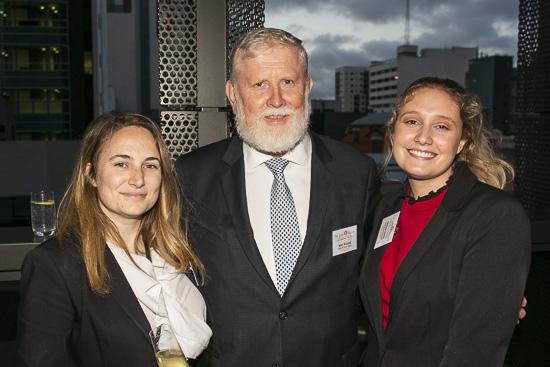 From left: Jess Hamdorf, Glen McLeod and Chelsea White
