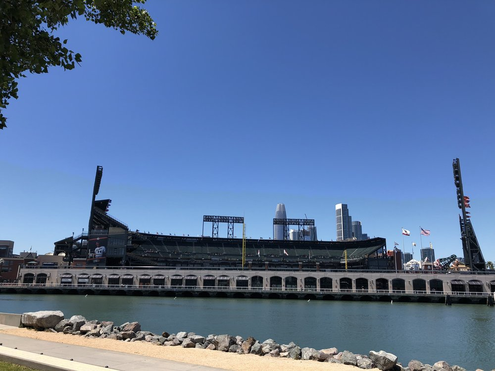 The home of San Francisco Giants baseball - AT&T Park.