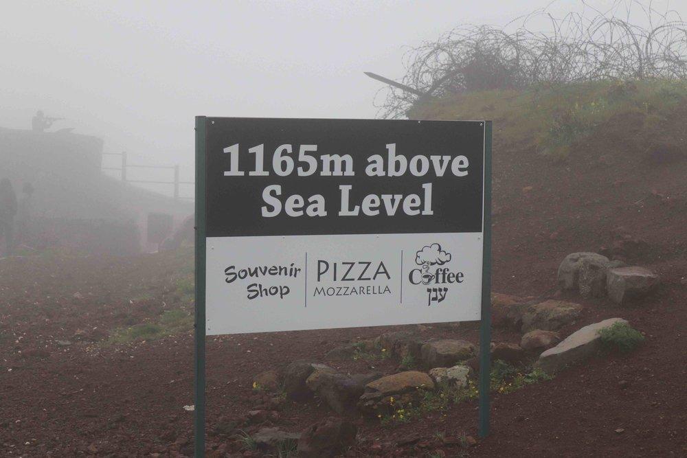 3,822 feet above sea level.