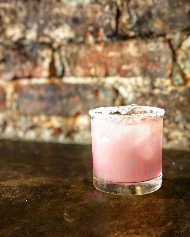 Spice up Valentine's Day with our Pantera Rosa - Serrano infused tequila, grapefruit, and St. Germain. Single? That's no excuse. There's room at the bar! #amorenmexico
